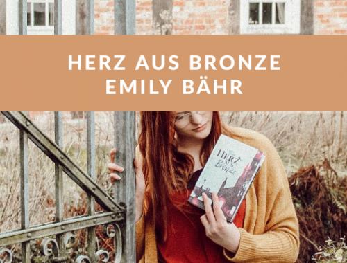 Herz aus Bronze Emily Delphy