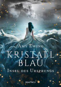 Kristallblau Insel des Ursprungs Cover