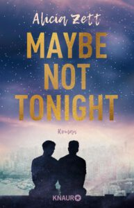 Maybe not Tonight Cover